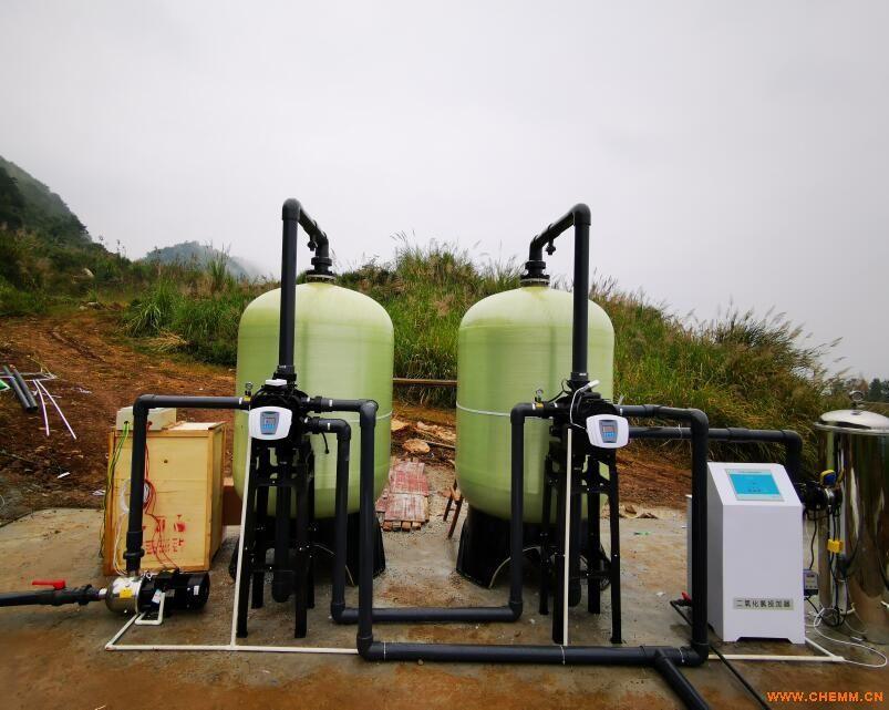 畜牧养殖业用水处理丨生活用水净化处理项目丨绵阳20吨每小时水处理