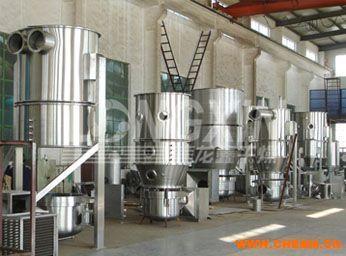 立式沸腾(制粒)干燥机-工作原理-性能特点