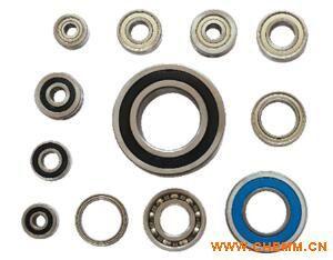 铬钢单列角接触轴承 高品质铬钢电机轴承