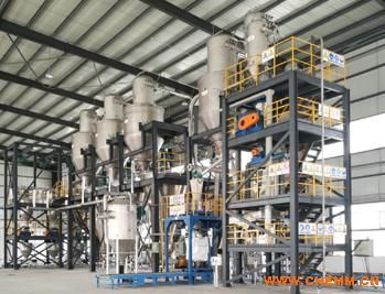 气力输送、配料、混料全自动包装生产线