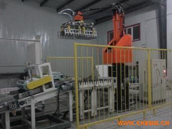 双抓手码垛生产线  自动化包装输送码垛设备