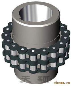 KC系列链轮联轴器 GL型滚子链联轴器 链条联轴器 齿轮联轴器 链条连