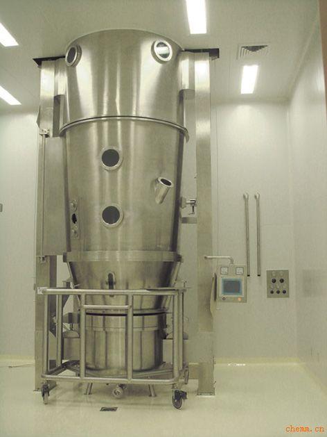 染料专用FL沸腾干燥制粒机