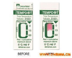 DeltaTRAKTempDot时间温度标贴 热敏试纸 温度标签