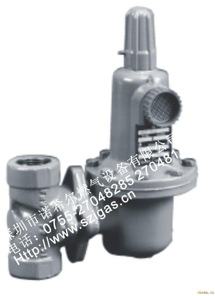 美国fisher减压阀627-576/627-496天然气调压阀液化气图片