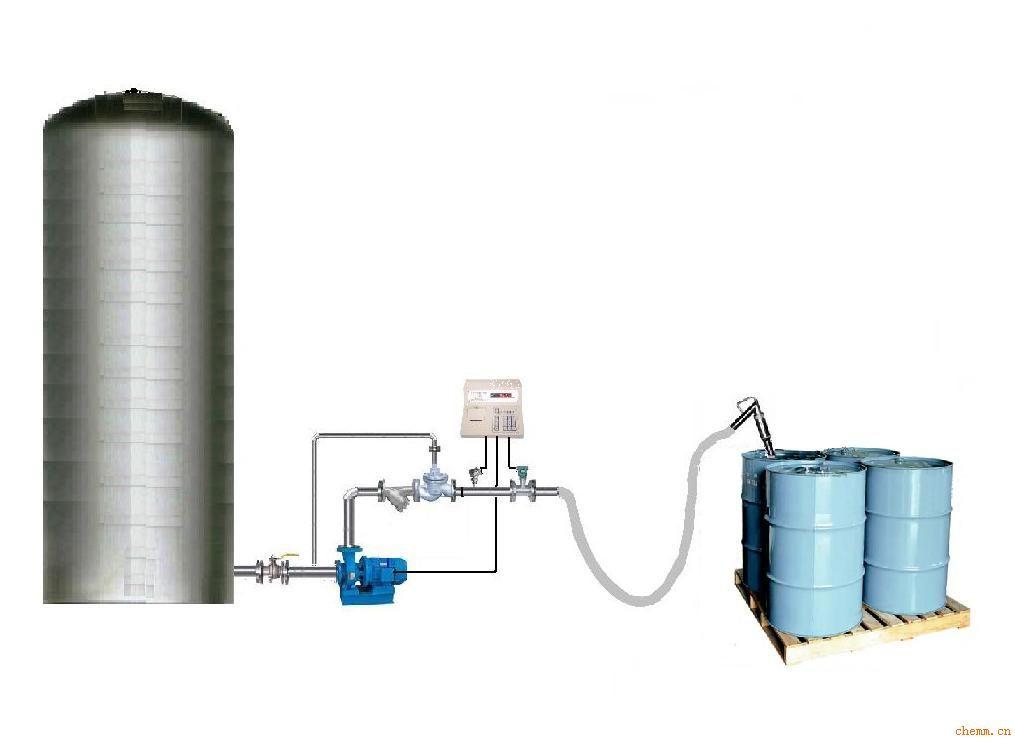 化工助剂自动化装桶设备