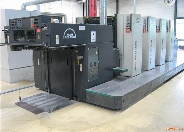 罗兰印刷机安装.调试.维修(机械-电气)