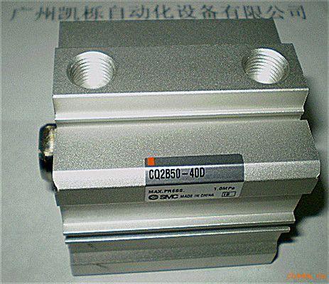 smc气缸cq2b50-40d/双作用/薄型/cq2系列图片