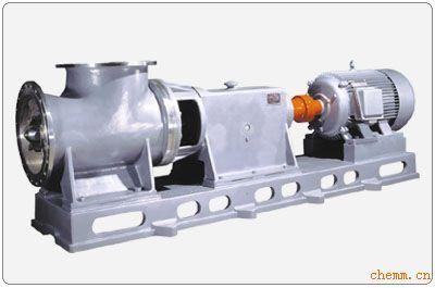 结构特点  *hzw系列化工轴流泵为悬臂式结构,泵
