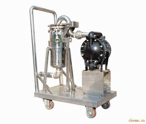 dl系列袋式过滤机是一种高效密闭的过滤设备,采用密闭加压过滤原理