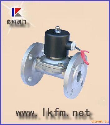 2w水用法兰电磁阀 kl膜片式电磁阀 dmf-z直角式电脉冲电磁阀 slp铜图片