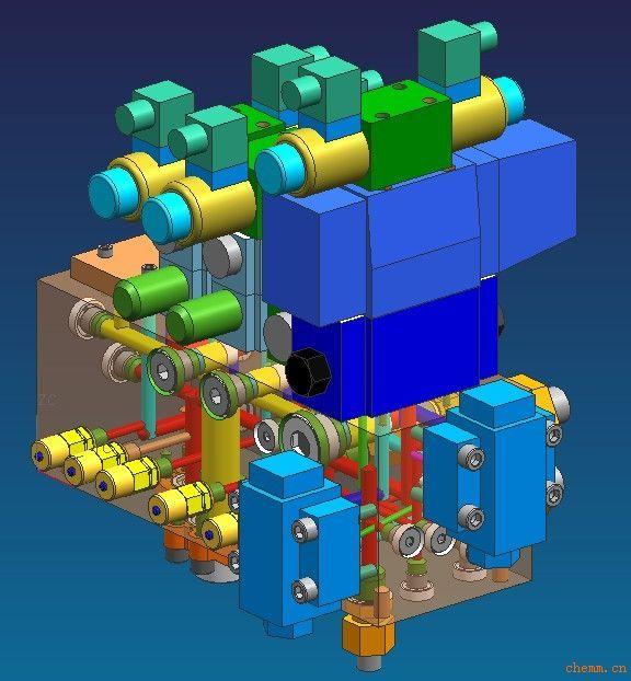 产品关键词:液压阀块  油路块图片