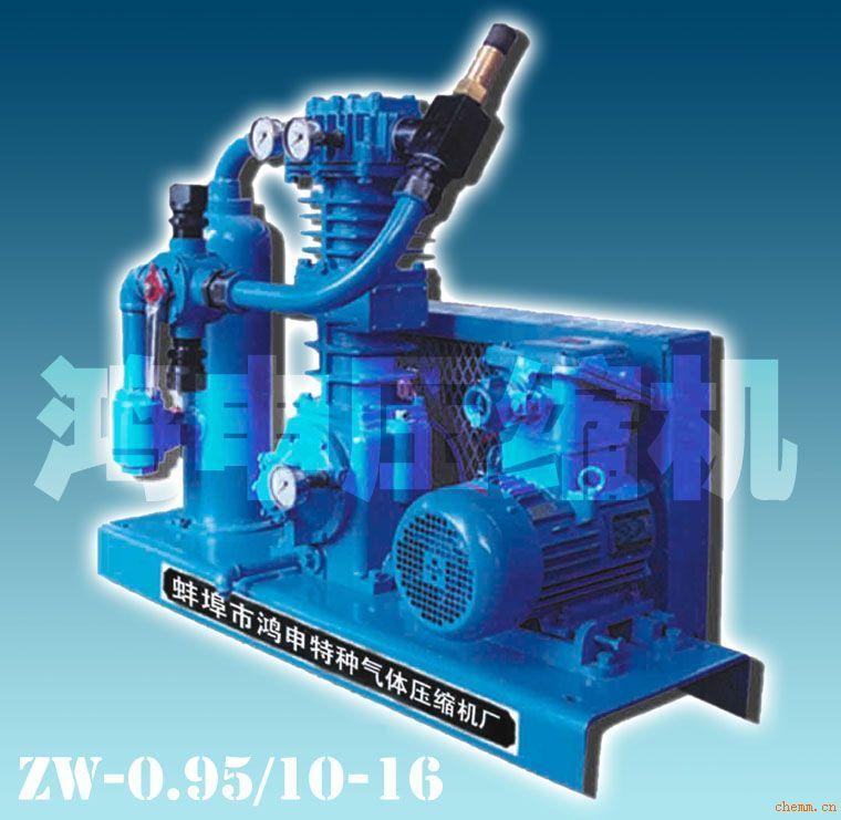 液化石油气压缩机zw-0.95/10-16图片
