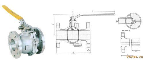 产品关键词:法兰球阀  手动球阀  q41f球阀  开关球阀图片