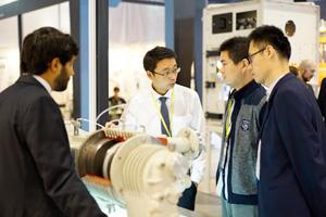 第十三届中国国际粉体加工/散料输送展览会会场掠影