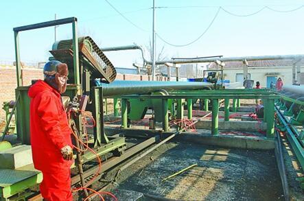 吉林油田建设公司挖掘设备潜能